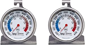 Taylor Precision Products Classic Series Large Dial Thermometer , Oven, 2 Pack