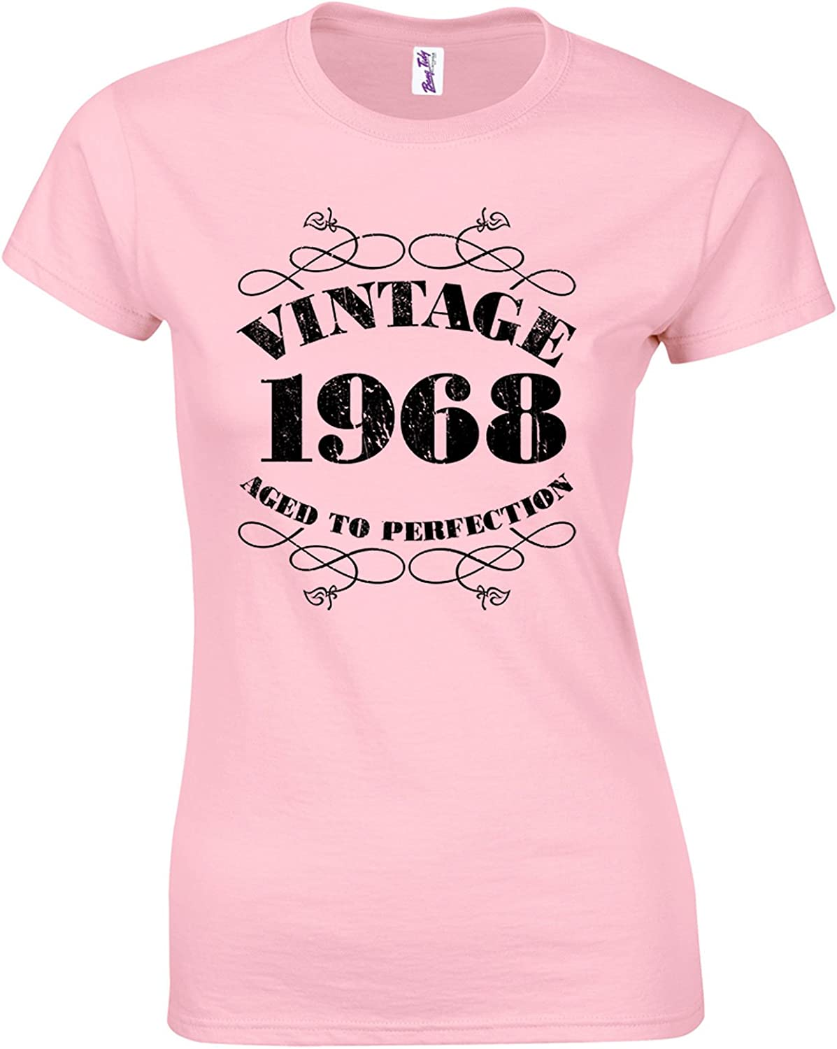 Bang Tidy Clothing 50th Birthday Gifts for Women Her Vintage 1970 T Shirt
