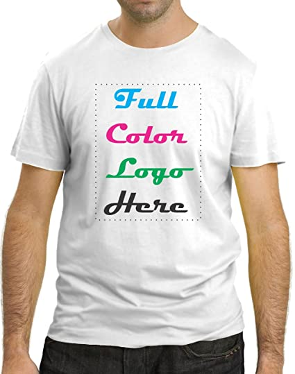7b29ff14bbf Image Unavailable. Image not available for. Color  50 Custom Printed T-shirt  + Full ...