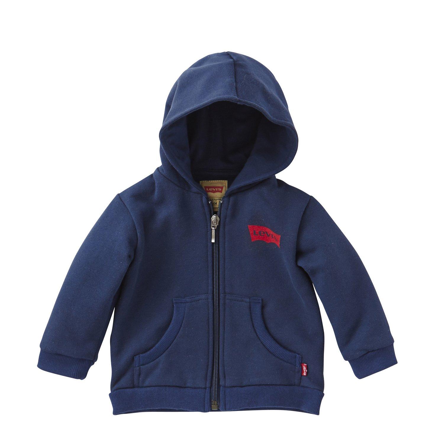 Levi's Baby Boys Zipper NOS Sports Hoodie Levis Groupe Zannier International N91700H