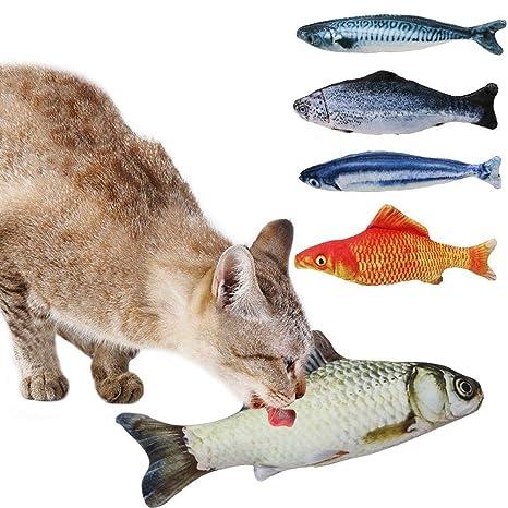 D.RoC - Juego de 5 Juguetes para Gatos, Gatos, Gatos, Gatos
