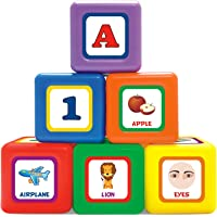 Little's 6-in-1 Puzzle Blocks, Multi Color