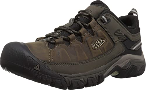 Keen Targhee III Low Hiking Boots are stable & grippy hiking shoes with a wide toe box.