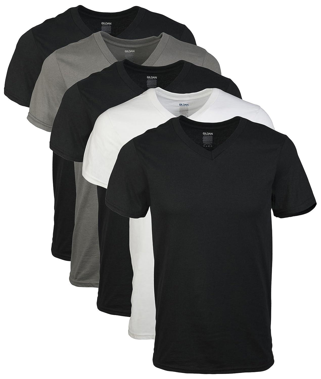 Gildan Men's Assorted V-Neck T-Shirts Multipack GIL1103