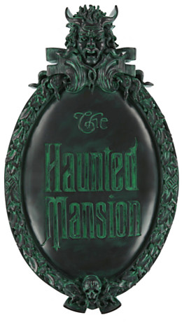 The Haunted Mansion Wall Sign | Home Accents & Lighting | Disney Store