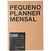 Planner Revista Kraft Mensal A5 Kft, Cicero, 5996, Preto, 5, 8 X 8, 3