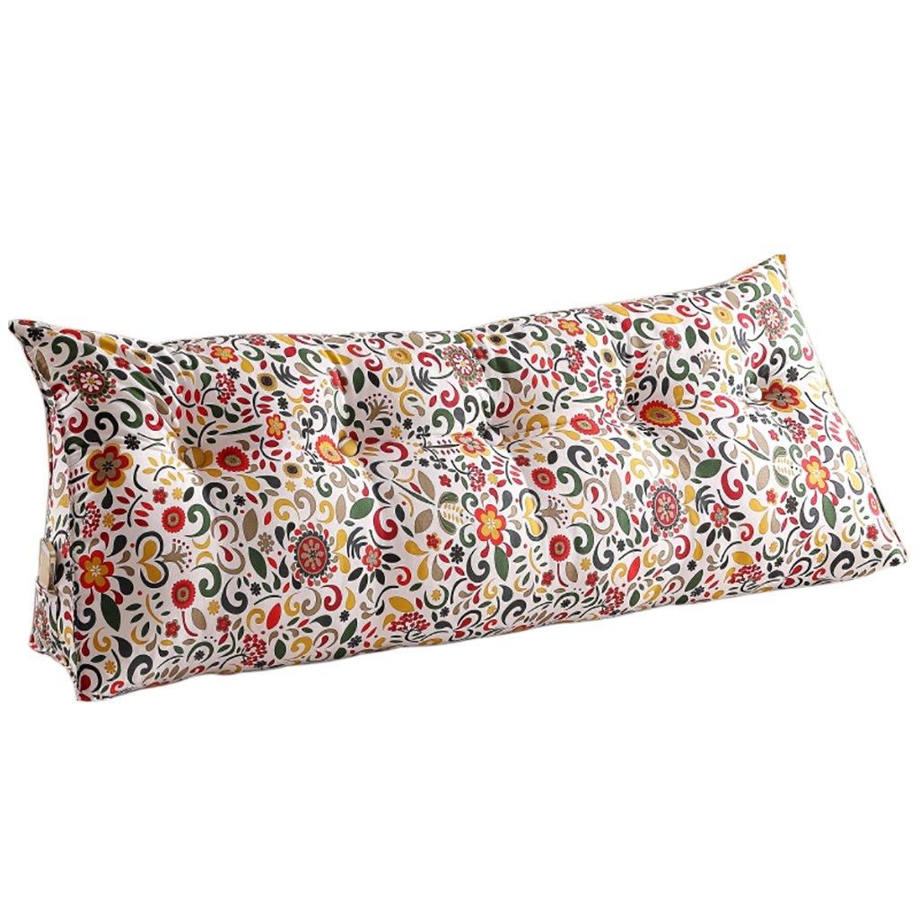 Creative Light-Kissen Dreieck Kissen Doppelbett Schlafsofa Bettlehne Bett Bett Bett Rückenlehne Großer Schlafanzug Relaxable ( Farbe   J , größe   605025cm ) B07B92YZX3 Kopfkissenbezüge 0721a2
