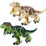 BeneGlow 2 mette in ordine grandi dimensioni puzzle multicolore puzzle 3D Puzzle mini Dinosauro blocchi per i bambini