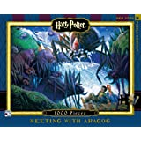 New York Puzzle Company - Harry Potter Meeting with Aragog - 1000 Piece Jigsaw Puzzle