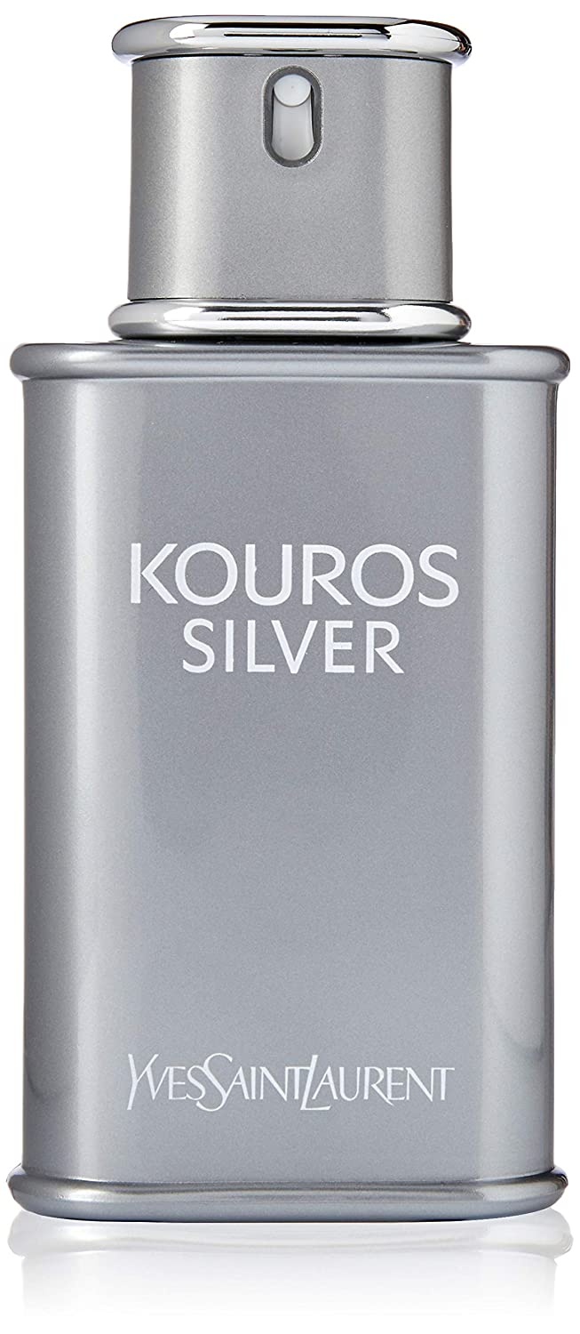 Spray Laurent Kouros Silver De 100ml Yves Saint Toilette Eau Okn0Pw