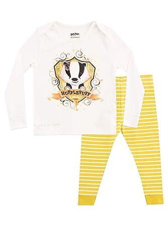 58b3736fb Harry Potter Kids Hogwarts Pyjamas Snuggle Fit: Amazon.co.uk: Clothing