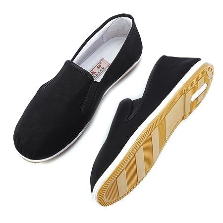 Artes Marciales Tradicional Kung Fu Zapatillas Antideslizante Chino algodón Tai-Chi/Kung Fu Zapatos Zapatillas Ocio Desgaste: Amazon.es: Deportes y aire ...