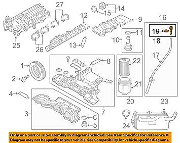 Audi A4 B8 A5 A8 D4 Oil Dipstick Guide Tube Bung Plug New Genuine