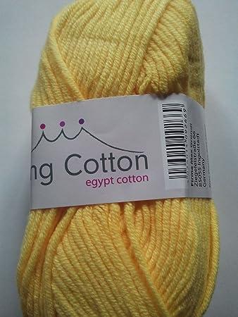 Grundl Wolle Strickgarn Häkelgarn King Cotton ägyptische Baumwolle