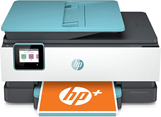 HP OfficeJet Pro 8035e All-in-One Wireless Color Printer (Oasis)-for home office, with 12 months Instant Ink with HP+, Compatible with Alexa (1L0H7A)
