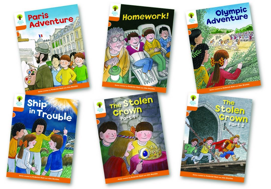 Download Oxford Reading Tree: Stage 6: More Stories B: Pack of 6 (Oxford Reading Tree: Level 6) PDF