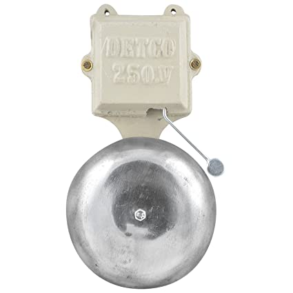 Detco Electric Gong Bell 6 inches