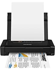 Epson WorkForce WF-100W - Impresora A4 portátil (WiFi y WiFi Direct, USB), color negro