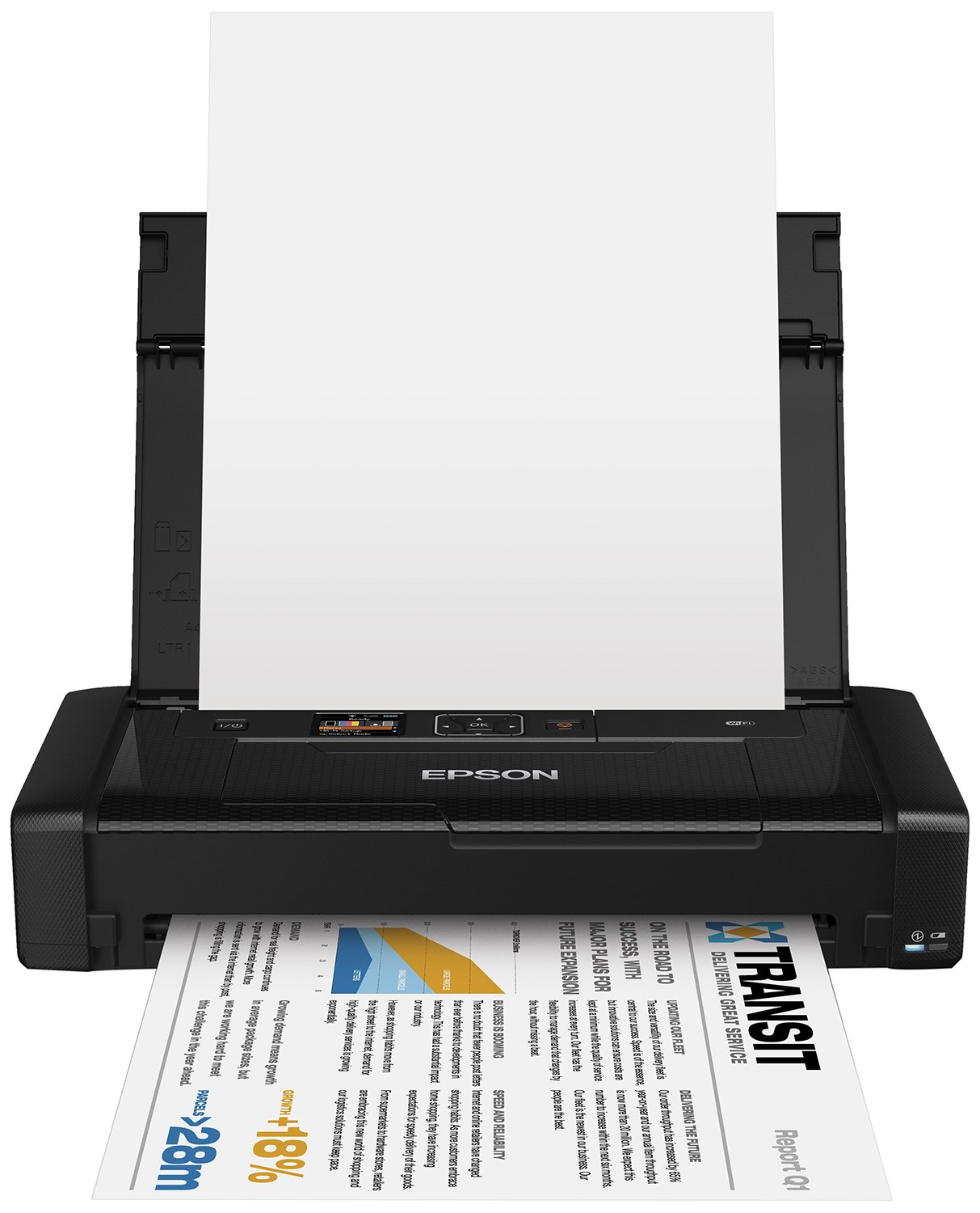 Epson WF100W, Impresora Color, WiFi, USB, 309‎ x 154 x 61 mm, Negro