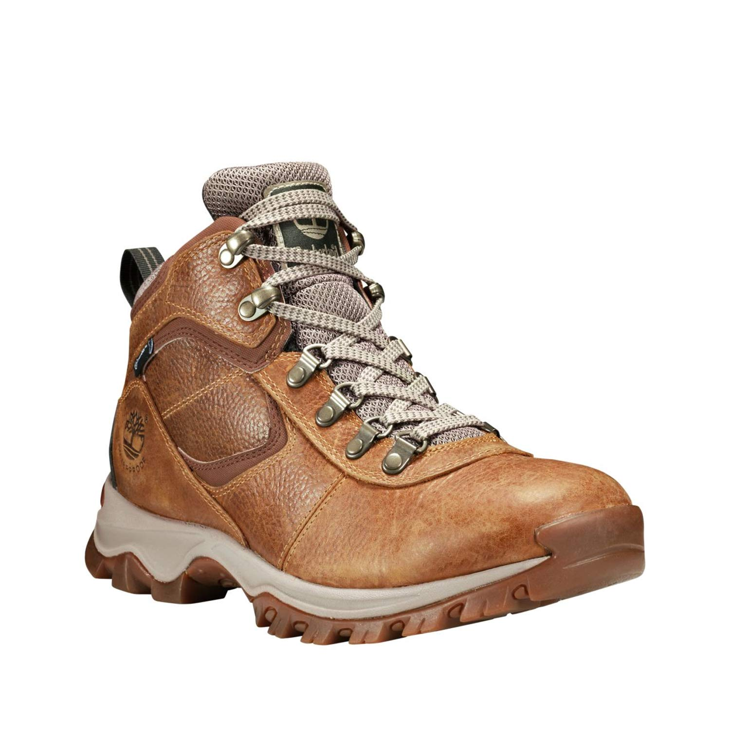 2dfce11a273 Timberland Mt. Maddsen Mid Waterproof Hiking Boot - Men's Light Brown Full  Grain, 8.0
