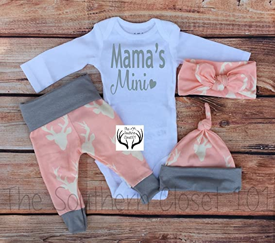 fe5f5a49fc68d Amazon.com  Baby Girl Coming Home Outfit