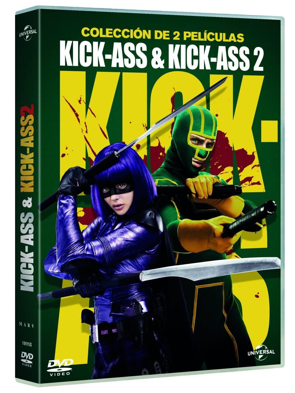 Pack: Kick-Ass 1 + Kick-Ass 2 (Edición 2017) [DVD]: Amazon ...