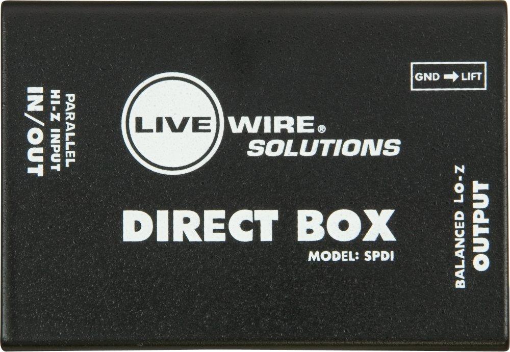 Livewire SPDI Passive Direct Box with Attenuation Pad by Live Wire (Image #3)