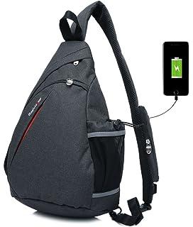22f9965373 Magictodoor Sling Bag Travel Backpack Wear Over Shoulder or Crossbody