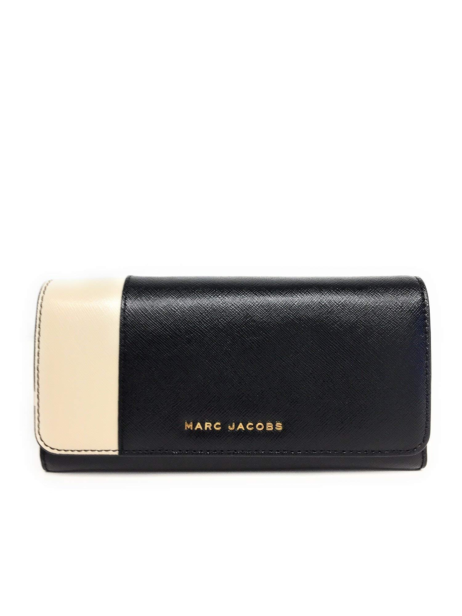 CDM product Marc Jacobs Saffiano Leather Color Blocked Flap Continental Wallet big image