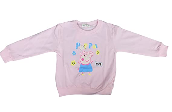 cba84c3d1 WE-BLINK Kids Pink Girls Peppa Pig Tshirt: Amazon.in: Clothing ...
