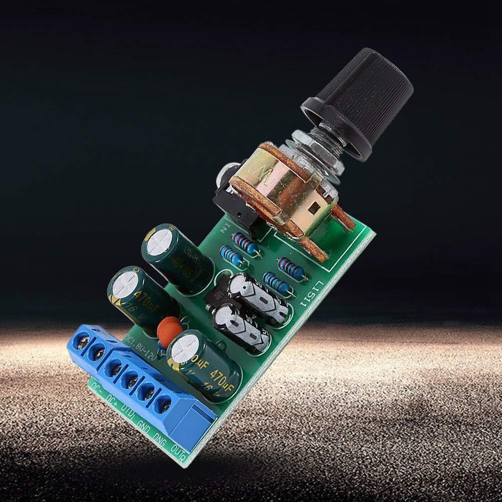 DC1.8-12V TDA2822M Amplificador 2-Canales Est/éreo 3,5 mm AUX M/ódulo de Placa de Amplificador de Audio