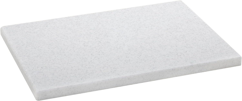 Metaltex - Tabla de cocina, Polietileno, Marmol, 29 x 20 x 1,5 cm