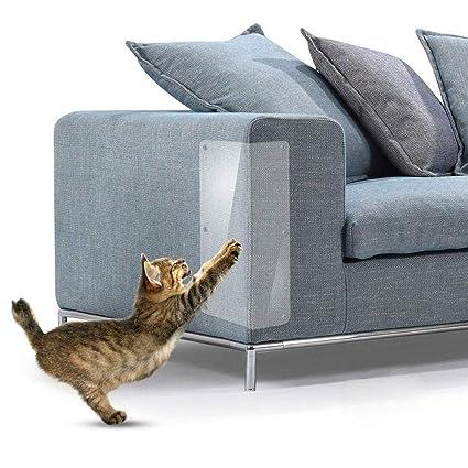 Auoker Cat Scratch Protector, Cat Scratch Deterrent Furniture Repellent Scratch Guard Sofa Protector for Cats Couch Protector to Protect Upholstery Mattress ...