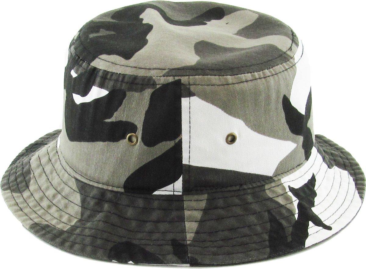 KBETHOS Unisex 100% Washed Cotton Bucket Hat Summer Outdoor Cap