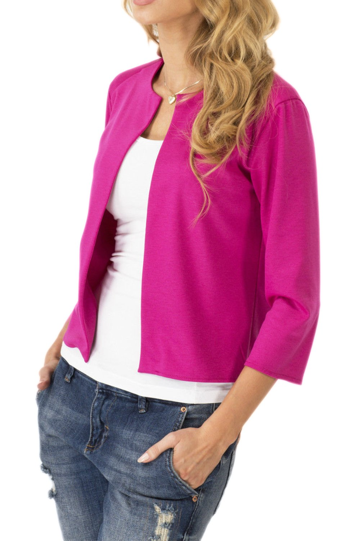 Women Casual 3/4 Sleeve Business Suits Tops Coat Jackets Blazer Outwear CAXZ009