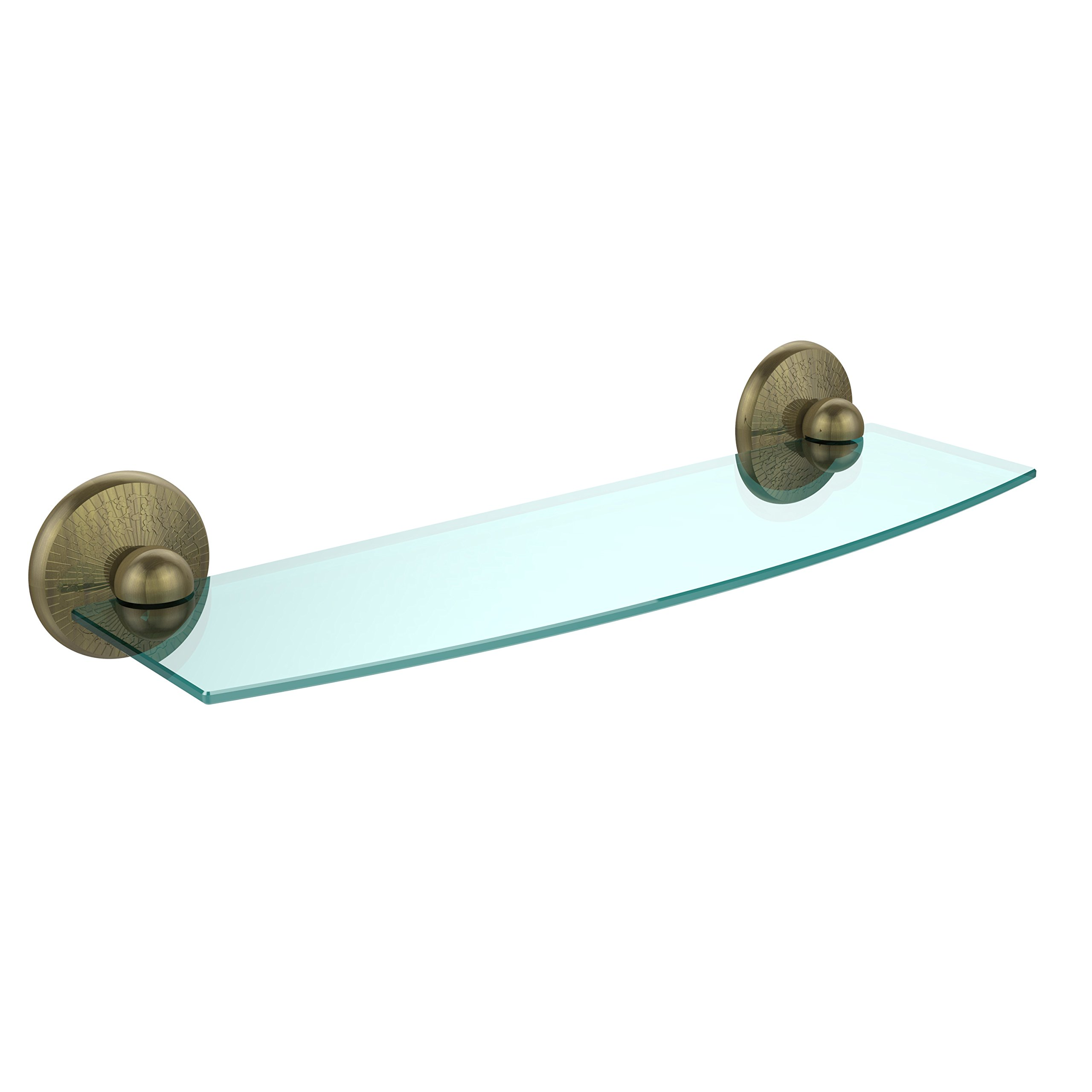 Allied Brass PMC-33/18-CA 18'' Glass Shelf Venetian Bronze