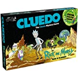 Winning Moves Australia Rick & Morty Cluedo Mystery Board Game