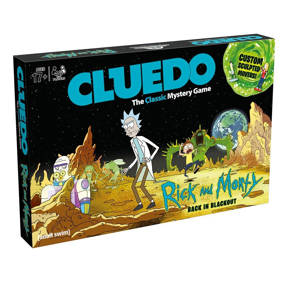 Rick And Morty Cluedo Board Game: Amazon.es: Libros en idiomas extranjeros
