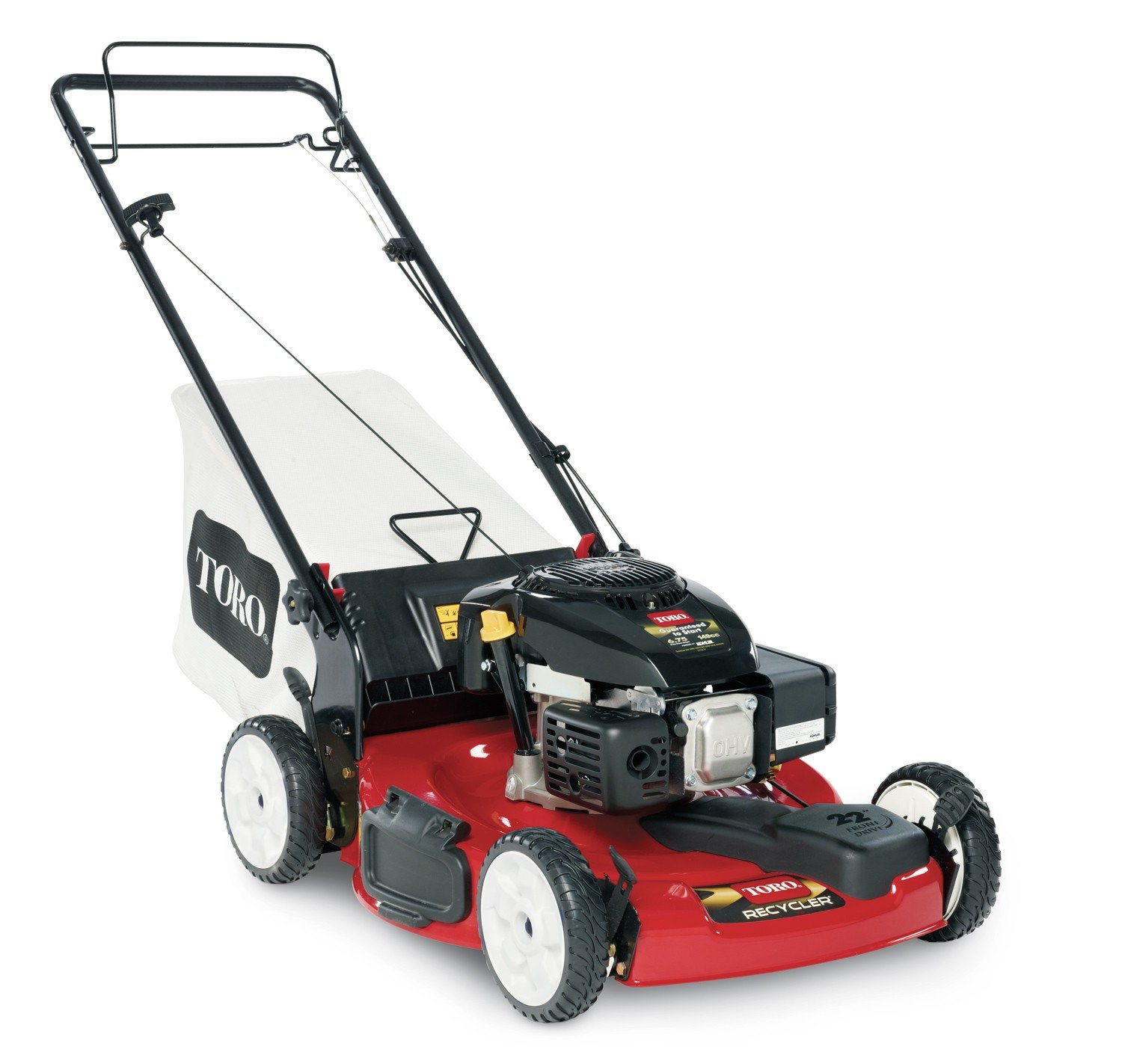 Amazon TORO 22In OHV Recycler Mo Walk Behind Lawn Mowers