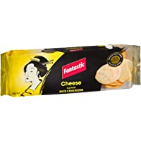 Fantastic Rice Crackers Cheese, 100g