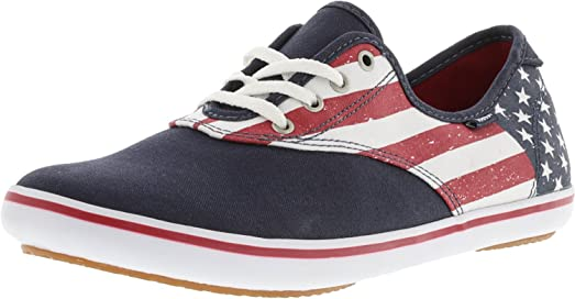 Women's Huntley Canvas Ankle-High Skateboarding Shoe