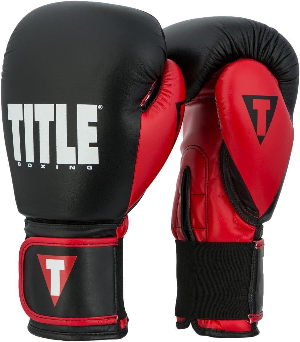 タイトルダイナミックStrike Heavy Bag Gloves ブラック/レッド 12 oz
