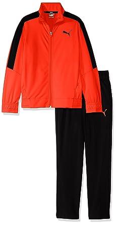 best selling latest discount cost charm Puma Survêtement Tricot Orange Garçon: Amazon.fr: Vêtements ...