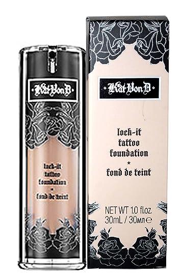 Amazon.com : Kat Von D Lock-It Tattoo Foundation Medium 54 by ...
