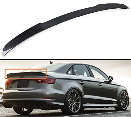 Cuztom Tuning Fits For 2014 2019 Audi A3 S3 Rs3 Sedan Duckbill Highkick Carbon Fiber Trunk Lid Spoiler Wing