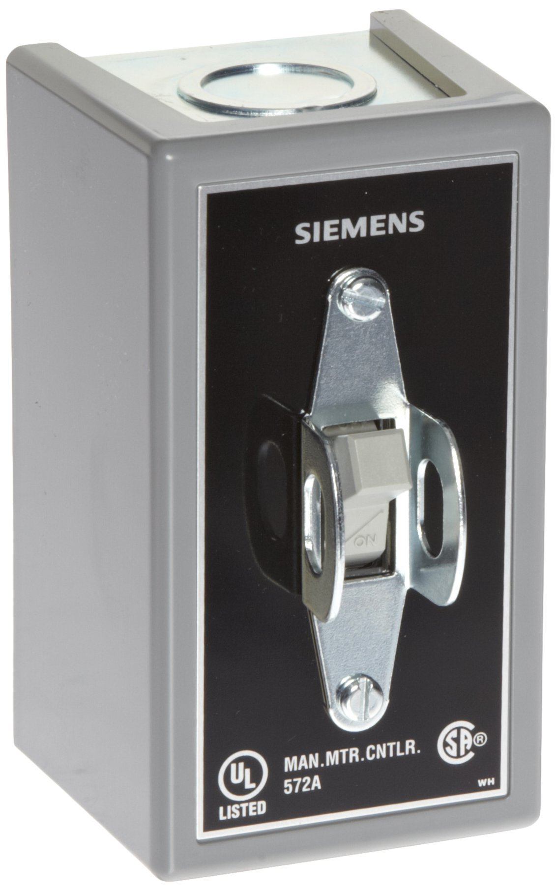 Siemens MMSKG1 Fractional HP Switch, Single and 3 Phase, NEMA Type 1 General Purpose Enclosure, Surface Mounting, Toggle Operator Type, Standard Switch Feature, 2 Poles