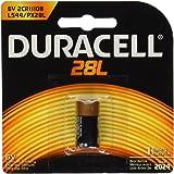 Duracell PX28LBPK Photo Batteries, Size 6.0 Volt Lithium