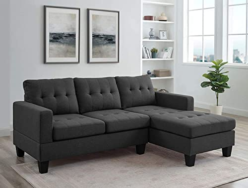 Editors' Choice: BEEY Sectional Sofa L-Shape Sofa Couch 3-seat Sofas Bed