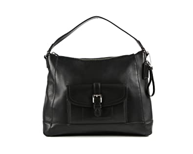 Coach Charlie Hobo Bag - Black: Handbags: Amazon.com