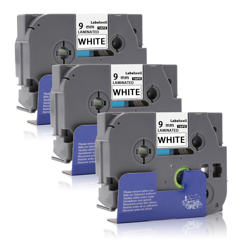 3 Schriftband kompatibel für brother TZE 231 P-Touch 350 540 540C 7500VP 7600VP